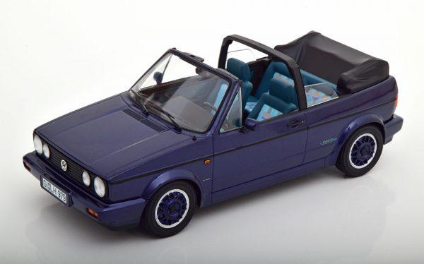 "Volkswagen Golf 1 Cabriolet ""Coast"" 1991 Purple Metallic 1-18 Norev"
