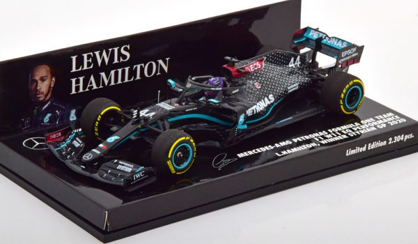 Mercedes AMG F1 W11 EQ Performance Winner Styrian GP 2020 Louis Hamilton 1-43 Minichamps Limited 2304 Pieces
