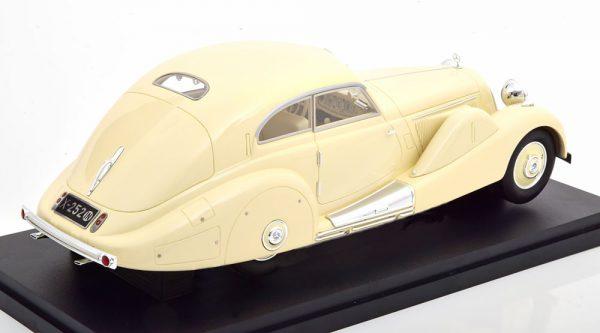 Mercedes-Benz 500K Special Streamlined Car 1935 Beige 1-18 Matrix ( Resin )