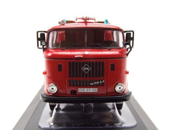 "IFA W 50 ""Feuerwehr Stadt Sonneberg"" Rood 1-43 Ixo Models"