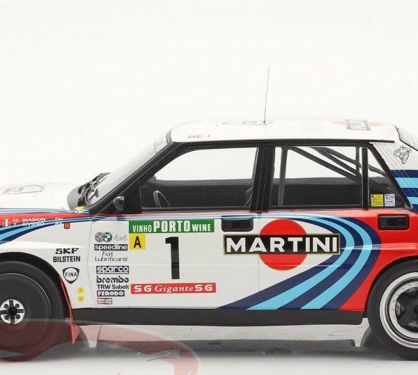 """Lancia Delta Integrale 16V #1 Winner Rally Portugal 1990 """"Martini"""" Miki Biasion / Tiziano Siviero 1-18 Ixo Models"""