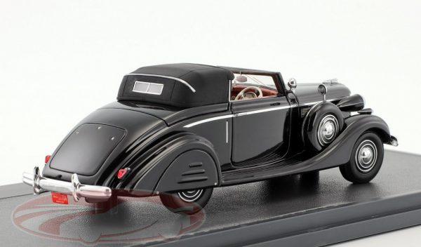 Buick Series 40 Lancefield Drop Head 1938 Black 1:43 Matrix Scale Models Limited 408 Pieces
