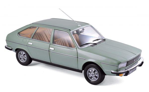 Renault 20 TS 1978 Algues Green 1-18 Norev