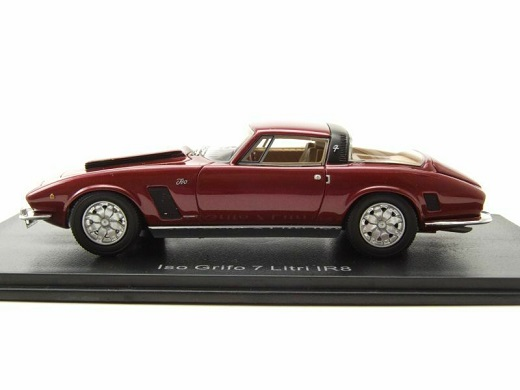 Iso Grifo 7 Litri MKII 1972 Dark Red 1-43 Neo Scale Models ( Resin )