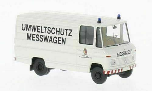 """Mercedes-Benz L 406 D Kasten """"Umweltschultz"""" Wit 1-87 Brekina"""