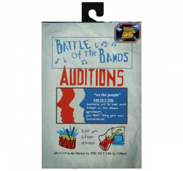 Back to The Future: Battle of the Bands Auditions 7 Inch Neca