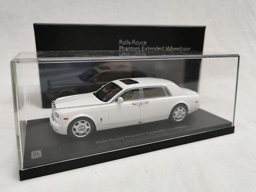 Rolls-Royce Phantom EWB ( Extended Wheelbase ) English White 1-43 Kyosho