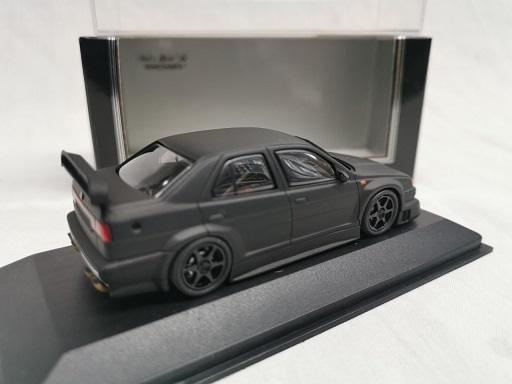 Alfa Romeo 155 V6 TI 1993 Homologation in Black 1-43 Minichamps ( Made for Kysoho ) Exclusive for Japan Limited 1536 Pieces
