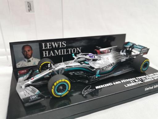 Mercedes-AMG Petronas Formula one Team F1 W11 EQ Performance Launch Spec. 2020 L.Hamilton 1-43 Minichamps Limited 1008 Pieces