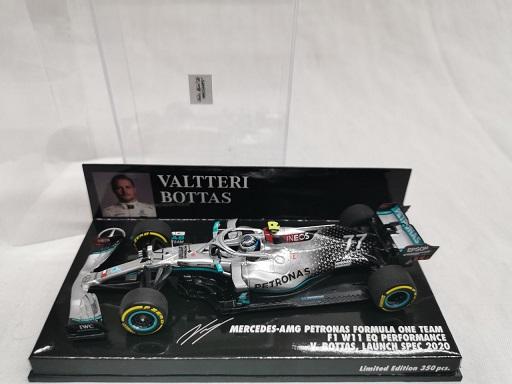 Mercedes-AMG Petronas Formula one Team F1 W11 EQ Performance Launch Spec. 2020 V.Bottas 1-43 Minichamps Limited 350 Pieces