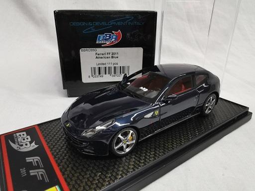 Ferrari FF 2011 American Blue 1-43 BBR Models Limited 111 Pieces
