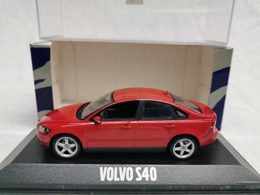 Volvo S40 2008 Rood 1-43 Minichamps