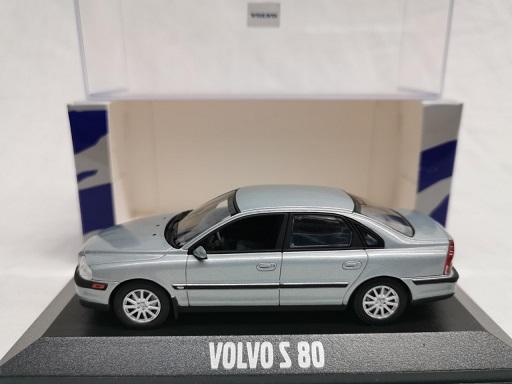 Volvo S80 2005 Blauwzilver 1-43 Minichamps