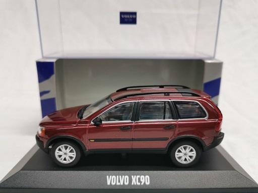Volvo XC90 2005 Bordeaux Rood 1-43 Minichamps