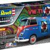 Volkswagen T1 Bus - The Who - Gift Set Plastic kit 1:24 Revell Bouwdoos