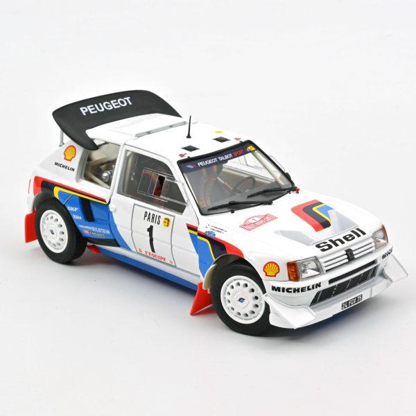 Peugeot 205 T16 #1 1986 Monte Carlo Drivers Salonen / Harjanne 1-18 Norev