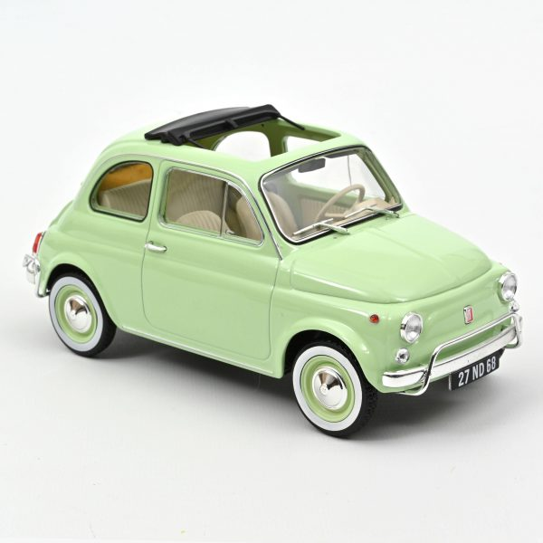Fiat 500L 1968 1-18 Groen Norev Special Birth Pack