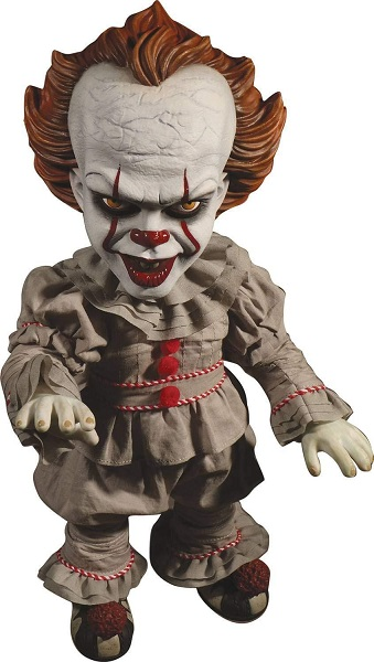 """IT Pennywise Talking Mega-Scale """"15 Inch"""" Doll Mezco Toys"""