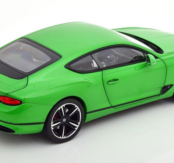Bentley Continenal GTC 2018 Groen Metallic 1-18 Norev