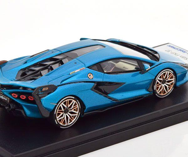 Lamborghini Sian FKP 37 2020 Turquoise Metallic 1-43 Looksmart ( Resin )