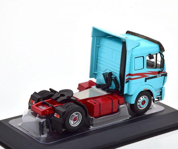 Mercedes-Benz 1838 LS 1994 Turquoise / Donkerrood 1-43 Ixo Models