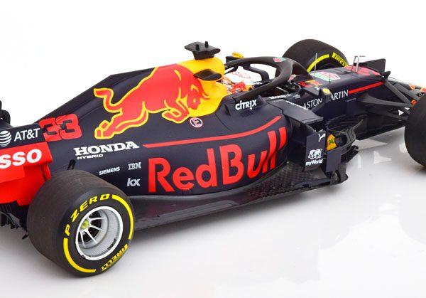 Aston Martin Red Bull Racing #33 RB15 Winner GP Brazil ( Sao Paulo ) 2019 Max Verstappen 1-18 Minichamps Limited 500 Pieces