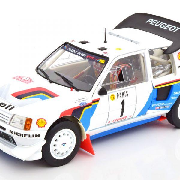 Peugeot 205 T16 #1 Rally Monte Carlo 1986 Drivers Salonen/Harjanne 1-18 Norev