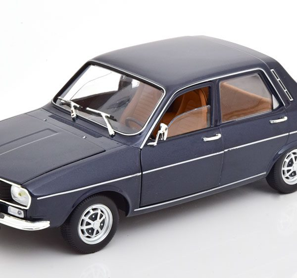 Renault 12TS 1973 1-18 Donkerblauw Norev