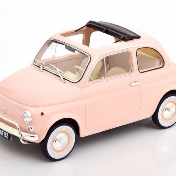 Fiat 500L 1968 1-18 Rose Norev Special Birth Pack