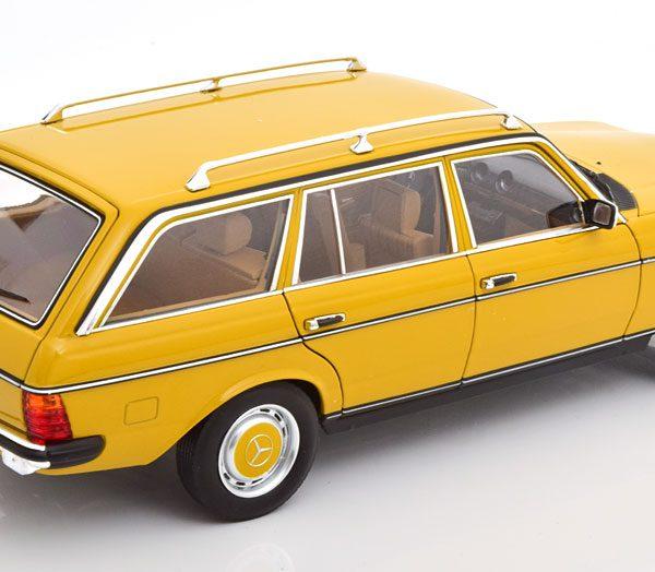 Mercedes-Benz 200 ( S123 ) T-Model 1982 Geel 1-18 Norev ( Metaal )