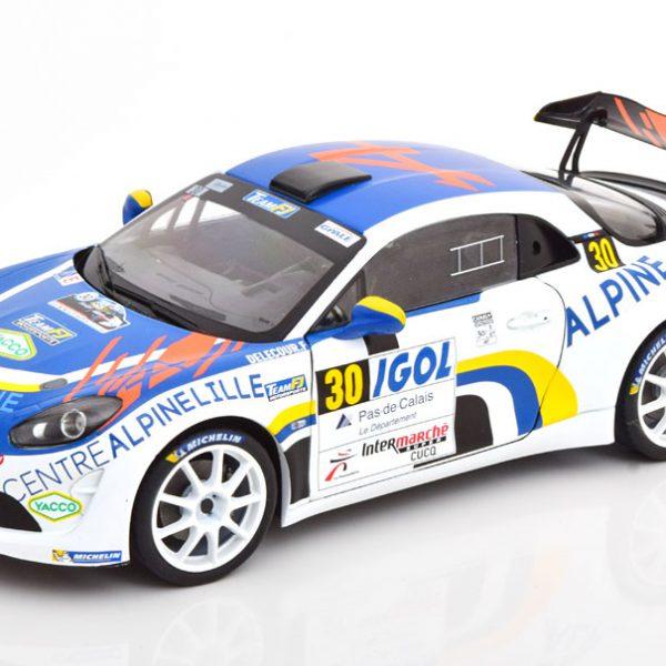 Renault Alpine A110 No.30 Rally du Touquet 2020 Delecour/Guigonnet 1-18 Solido