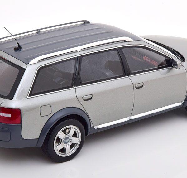 Audi A6 ( C6 ) 2.8L Allroad Quattro Avant 2000 Grijs Metallic 1-18 Ottomobile Limited 3000 Pieces