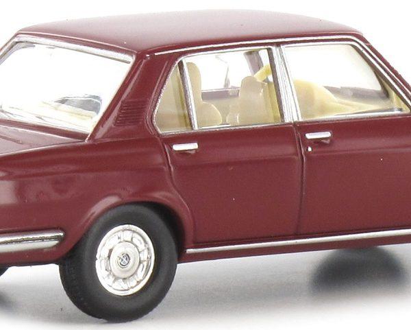 BMW 2500 Bordeaux Rood 1-87 Brekina