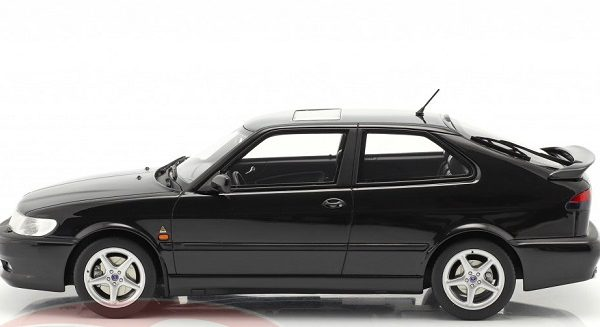 Saab 9-3 Viggen Coupe 2000 Black Metallic 1:18 DNA Collectibles Limited Edition 320 Pieces