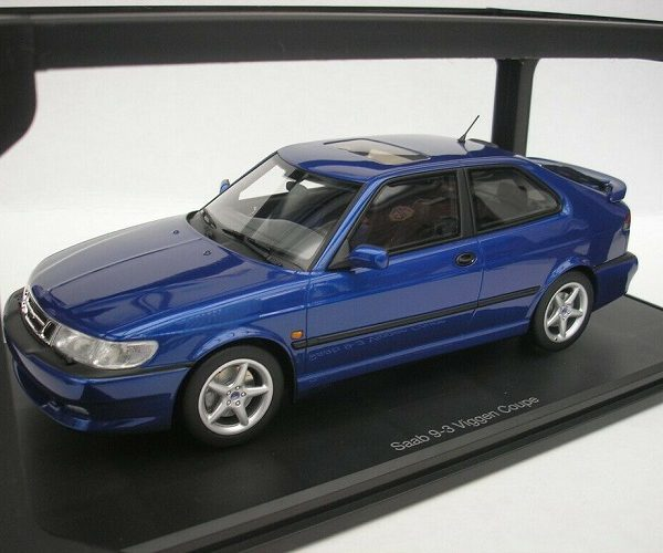 Saab 9-3 Viggen Coupe 2000 Blauw 1:18 DNA Collectibles Limited Edition 320 Pieces