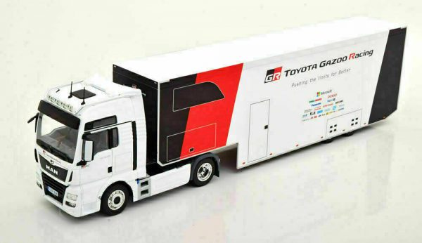"MAN TGX XXL D38 2019 ""Toyota Gazoo Racing WRC Rally Transporter"" 1-43 Ixo Models"