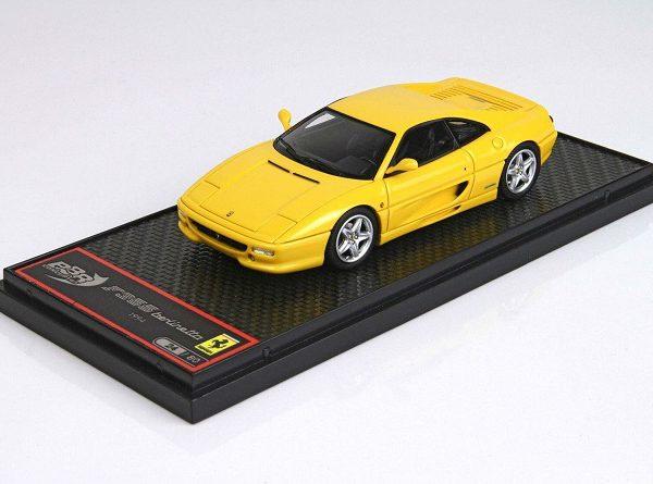 Ferrari F355 Berlinetta 1994 Giallo Modena Yellow 1-43 BBR-Models Limited 80 Pieces