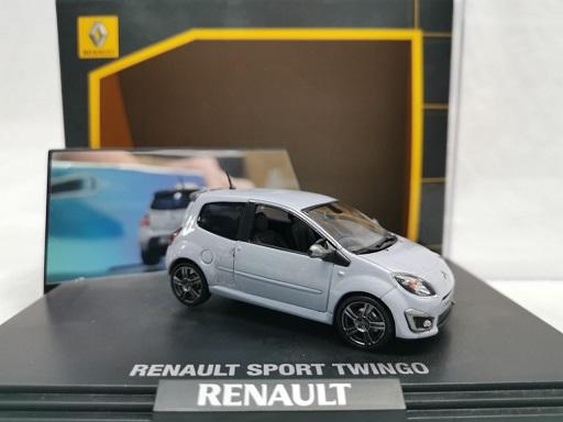 Renault Sport Twingo (RHD) Grijs 1-43 Norev