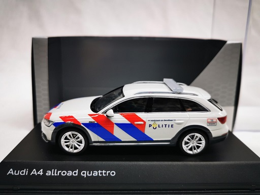Audi A4 Allroad Quattro Nederlandse Politie Ombouw ( New Striping ) 1-43 Spark