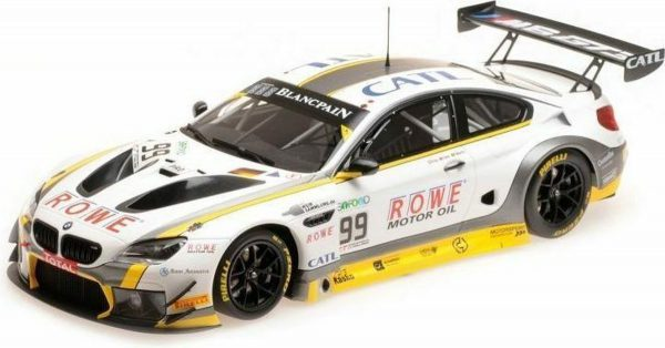 BMW M6 GT3 Rowe Racing #99 24Hrs Spa 2017 Eng / Martin / Sims 1:18 Minichamps Limited 276 Pieces