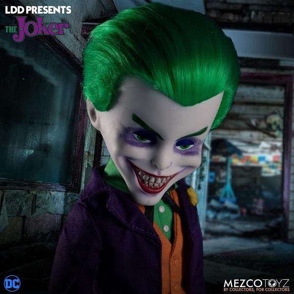 Living Dead Dolls Presents DC Universe: Joker (10 Inch ) Mezco Toys