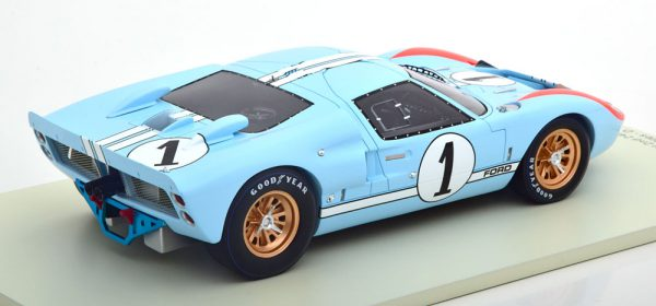 Ford GT40 MK II No.1, The Real Winner 24Hrs Le Mans 1966 Miles/Hulme 1-18 Spark