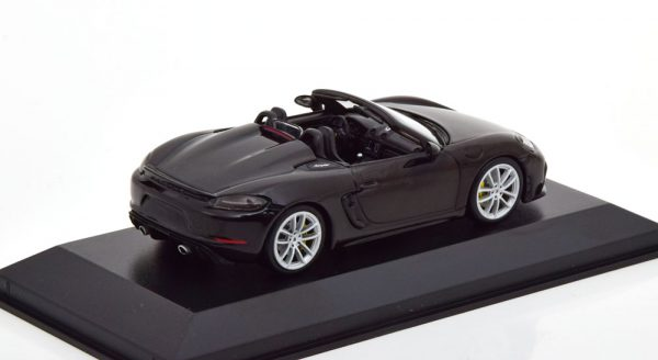 Porsche 718 (982) Spyder 2020 Zwart 1-43 Minichamps Limited 336 Pieces