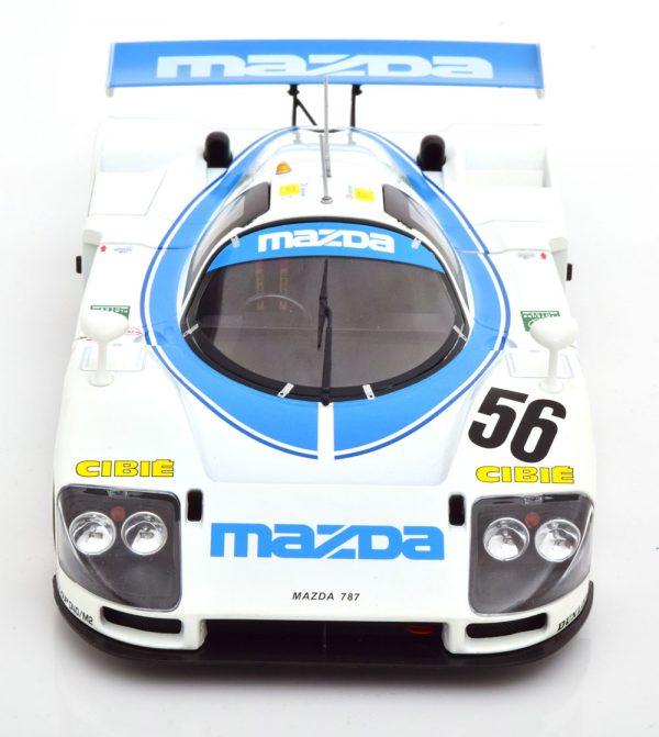 Mazda 787 B No.56, 24Hrs Le Mans 1991 Yorino/Terada/Dieudonne 1-18 CMR Models