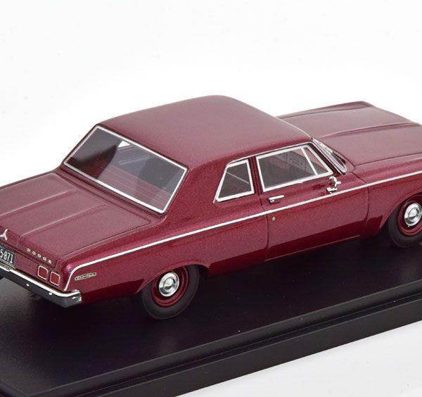 Dodge 330 Sedan 1964 Rood Metallic 1-43 Neo Scale Models ( Resin )