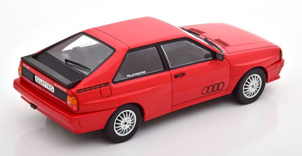 Audi Quattro 1980 Rood 1-24 Whitebox ( Metaal )