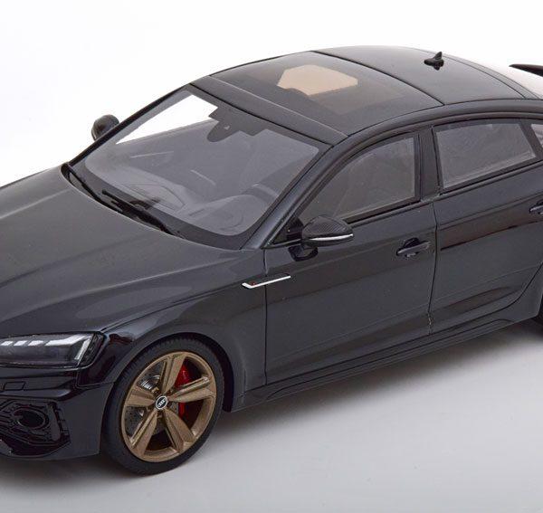 Audi RS5 ( B9 ) Sportback 2020 Zwart 1-18 GT Spirit Limited 1100 Pieces