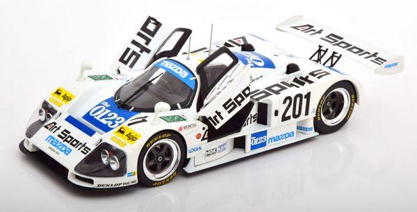 Mazda 787 B No.201, 24Hrs Le Mans 1990 Kennedy/Dieudonne/Johansson 1-18 CMR Models ( Metaal )