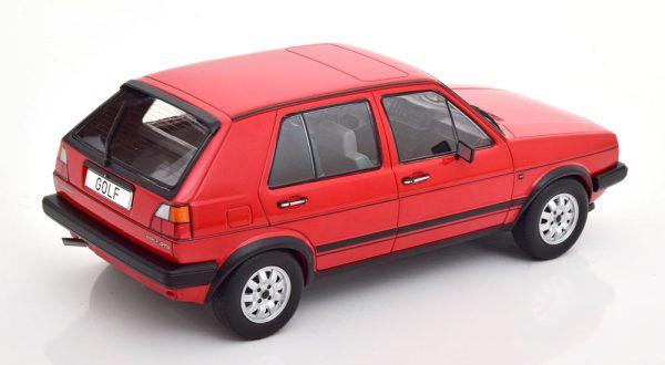 Volkswagen Golf II GTD 1984 Rood 1-18 MCG Models