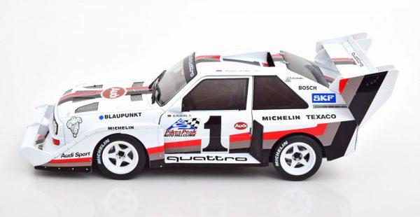 Audi Sport Quattro S1 #1 Winner Pikes Peak 1987 W.Röhrl 1-18 CMR Models